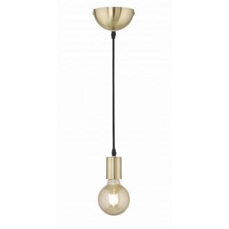 TRIO 310100108 | Cord Trio visilice svjetiljka 1x E27 mat zlato, crno