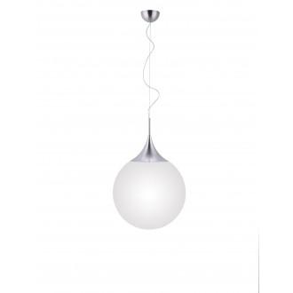 TRIO 351690107 | Damian-TR Trio visilice svjetiljka daljinski upravljač jačina svjetlosti se može podešavati, promjenjive boje 1x E27 806lm 2200 <-> 6500K poniklano mat, bijelo