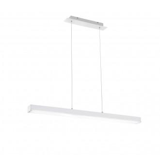 TRIO 358210131 | Livaro Trio visilice svjetiljka daljinski upravljač jačina svjetlosti se može podešavati, promjenjive boje 1x LED 2000lm 3000 <-> 5000K bijelo mat