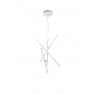 TRIO 371690331 | Tiriac-TR Trio visilice svjetiljka elementi koji se mogu okretati, jačina svjetlosti se može podešavati 3x LED 2490lm 3000K bijelo mat