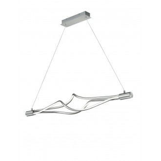 TRIO 379890307   Loop-TR Trio visilice svjetiljka sa tiristorski dodirnim prekidačem jačina svjetlosti se može podešavati 3x LED 2550lm 3000 - 5000K poniklano mat