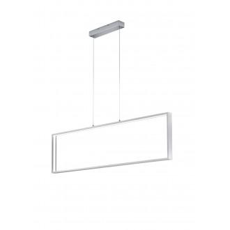 TRIO 379910105 | Azur Trio visilice svjetiljka jačina svjetlosti se može podešavati 1x LED 3000lm 3000K brušeni aluminij