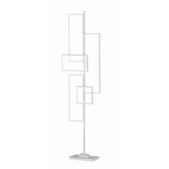 TRIO 472610531 | Tucson-TR Trio podna svjetiljka 160cm sa nožnim prekidačem jačina svjetlosti se može podešavati 1x LED 3750lm 3000K bijelo mat
