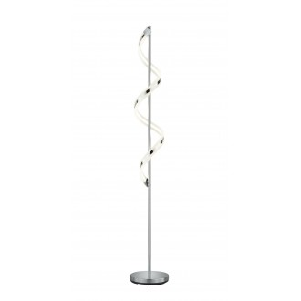 TRIO 472910106   Sydney-TR Trio podna svjetiljka 162cm sa tiristorskim prekidačem jačina svjetlosti se može podešavati 1x LED 1800lm 3000K krom