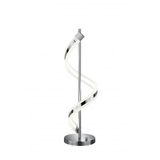 TRIO 572910106   Sydney-TR Trio stolna svjetiljka 63cm sa tiristorskim prekidačem jačina svjetlosti se može podešavati 1x LED 1300lm 3000K krom