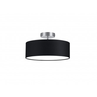 TRIO 603900202   Hotel-TR Trio stropne svjetiljke svjetiljka 2x E14 poniklano mat, crno