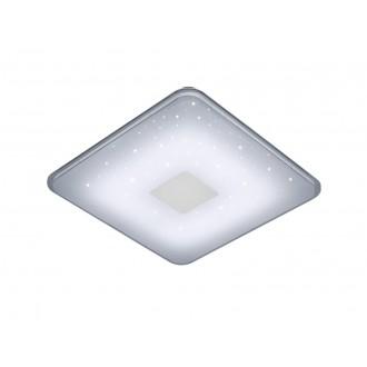 TRIO 628613001 | Samurai-TR Trio stropne svjetiljke svjetiljka daljinski upravljač može se upravljati daljinskim upravljačem, jačina svjetlosti se može podešavati 1x LED 2400lm 3000 <-> 5500K bijelo
