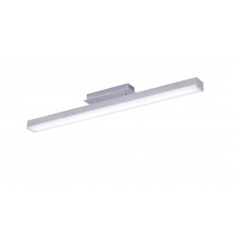TRIO 658210107 | Livaro Trio stropne svjetiljke svjetiljka daljinski upravljač jačina svjetlosti se može podešavati, promjenjive boje 1x LED 2000lm 3000 <-> 5000K poniklano mat