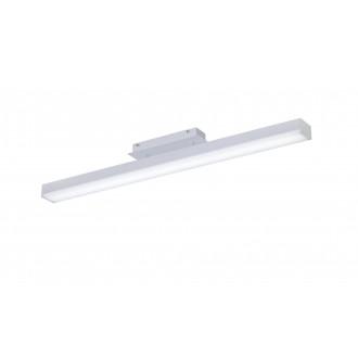 TRIO 658210131 | Livaro Trio stropne svjetiljke svjetiljka daljinski upravljač jačina svjetlosti se može podešavati, promjenjive boje 1x LED 2000lm 3000 <-> 5000K bijelo mat