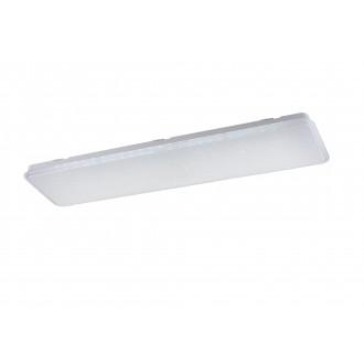 TRIO 658810100 | Imara Trio stropne svjetiljke svjetiljka daljinski upravljač jačina svjetlosti se može podešavati, promjenjive boje 1x LED 3700lm 3000 <-> 5500K bijelo