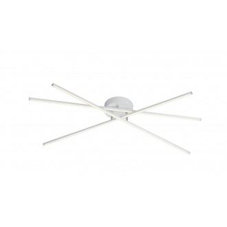 TRIO 671610331 | Tiriac-TR Trio stropne svjetiljke svjetiljka elementi koji se mogu okretati, jačina svjetlosti se može podešavati 3x LED 2850lm 3000K bijelo mat
