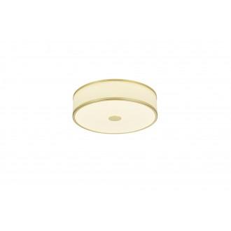 TRIO 678010108 | Agento Trio stropne svjetiljke svjetiljka jačina svjetlosti se može podešavati 1x LED 2100lm 3000K mat zlato, sivobijela