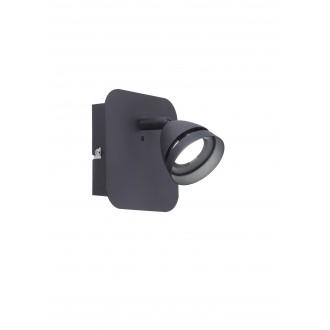 TRIO 850010132 | Gemini-TR Trio spot svjetiljka daljinski upravljač jačina svjetlosti se može podešavati, promjenjive boje 1x LED 300lm 3000 <-> 5000K crno mat