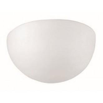 VIOKEF 305400 | Aris-VI Viokef zidna svjetiljka 1x E27 opal mat, bijelo