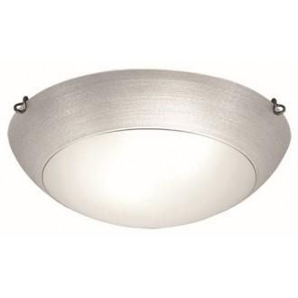 VIOKEF 3056501 | Marcela Viokef stropne svjetiljke svjetiljka 2x E27 srebrno, bijelo mat, antik