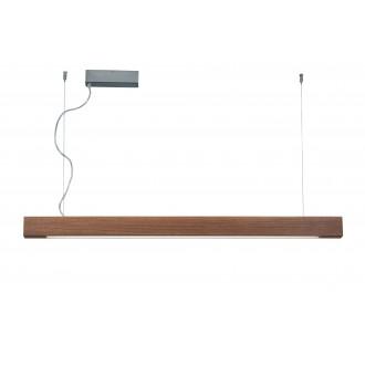 VIOKEF 3089700 | Avenue-VI Viokef visilice svjetiljka 1x LED 5000lm 3000K drvo, smeđe