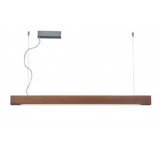 VIOKEF 3089702 | Avenue-VI Viokef visilice svjetiljka jačina svjetlosti se može podešavati 1x LED 5000lm 3000K drvo, smeđe