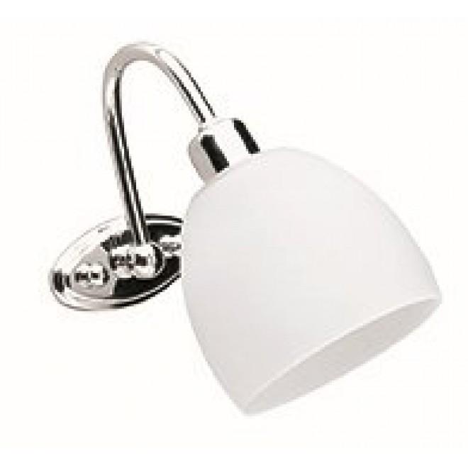 VIOKEF 351300 | Niobe Viokef zidna svjetiljka 1x E14 bijelo mat, krom