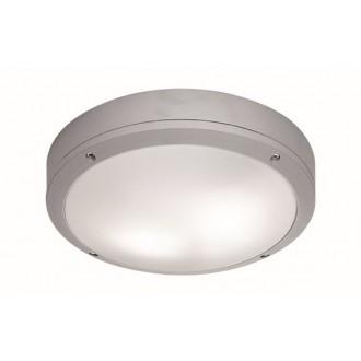 VIOKEF 4049200 | Leros Viokef stropne svjetiljke svjetiljka 2x E27 IP44 sivo, opal