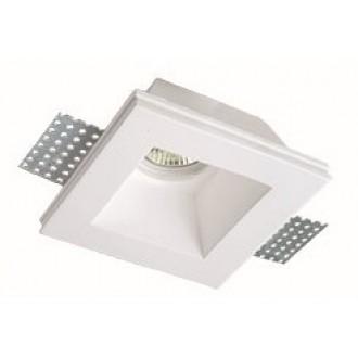 VIOKEF 4071400 | Bradley-VI Viokef ugradbena svjetiljka može se bojati 120x120mm 1x MR16 / GU5.3 / GU10 bijelo