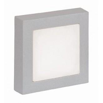VIOKEF 4079900 | Leros/-Mare Viokef zidna svjetiljka 9x LED 60lm 3000K IP44 sivo, bijelo