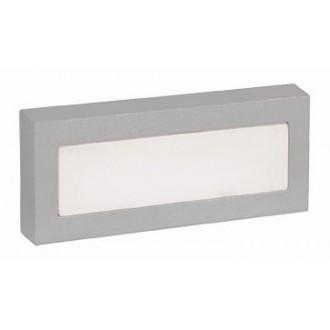 VIOKEF 4080000 | Leros-/Mare Viokef zidna svjetiljka 18x LED 120lm 3000K IP44 sivo, bijelo