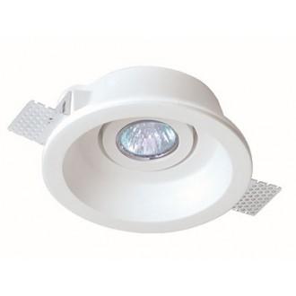 VIOKEF 4081000 | Jack-VI Viokef ugradbena svjetiljka može se bojati Ø155mm 1x MR16 / GU5.3 / GU10 bijelo