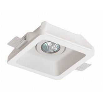 VIOKEF 4081100 | Jack-VI Viokef ugradbena svjetiljka može se bojati 155x155mm 1x MR16 / GU5.3 / GU10 bijelo