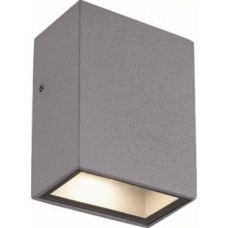 VIOKEF 4087600 | Tech Viokef zidna svjetiljka 1x LED 225lm 3000K IP44 sivo, bijelo