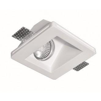 VIOKEF 4116100 | Dalton-VI Viokef ugradbena svjetiljka može se bojati 120x120mm 1x MR16 / GU5.3 / GU10 bijelo