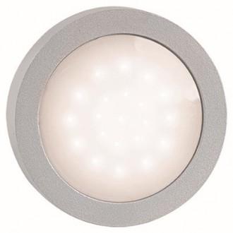 VIOKEF 4136000 | Leros Viokef zidna svjetiljka 1x LED 140lm 3000K IP44 sivo, bijelo
