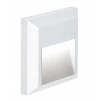 VIOKEF 4137801 | Leros-Plus Viokef zidna svjetiljka 1x LED 112lm 3000K IP44 bijelo
