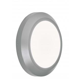 VIOKEF 4138000 | Leros-Plus Viokef zidna svjetiljka 1x LED 225lm 3000K IP44 sivo, bijelo