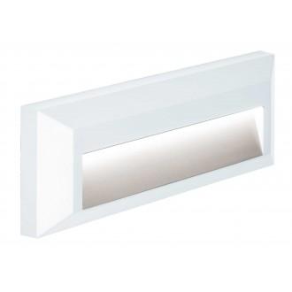 VIOKEF 4138101 | Leros-Plus Viokef zidna svjetiljka 1x LED 112lm 3000K IP44 bijelo