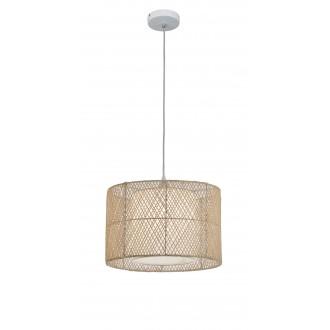 VIOKEF 4149000 | Grido Viokef visilice svjetiljka 1x E27 smeđe, bijelo