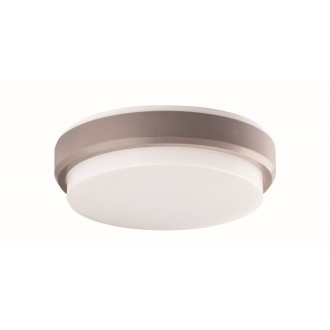 VIOKEF 4171700   Leros-Plus Viokef stropne svjetiljke svjetiljka 1x LED 800lm 3000K IP54 srebrno, bijelo