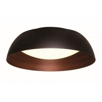 VIOKEF 4173500 | Chester-VI Viokef stropne svjetiljke svjetiljka 1x LED 1920lm 3000K crno, smeđe, opal mat