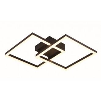 VIOKEF 4173700 | Linus-VI Viokef visilice svjetiljka 1x LED 3897lm 3000K smeđe, bijelo