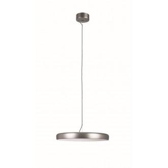 VIOKEF 4176201 | Placebo Viokef visilice svjetiljka 1x LED 2500lm 3000K srebrno, bijelo