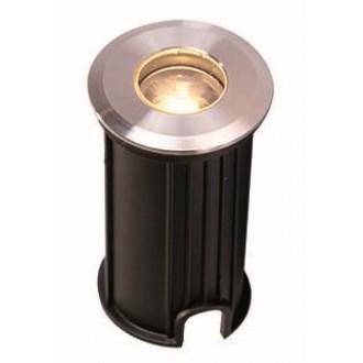 VIOKEF 4186700 | Lotus-VI Viokef ugradbena svjetiljka Ø42mm 1x LED 110lm 3200K IP67 srebrno, crno