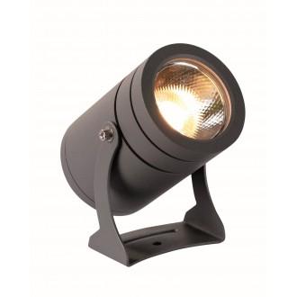 VIOKEF 4187600 | Maris-VI Viokef reflektor, ubodne svjetiljke svjetiljka elementi koji se mogu okretati 1x LED 1080lm 3000K IP65 tamno siva