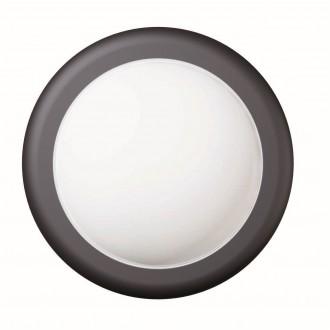 VIOKEF 4189500 | Minos Viokef zidna svjetiljka 1x LED 400lm 3000K IP54 crno, bijelo