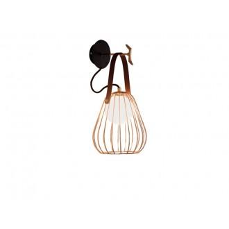 VIOKEF 4195600 | Lámpa Viokef zidna svjetiljka 1x G9 zlatno, crno