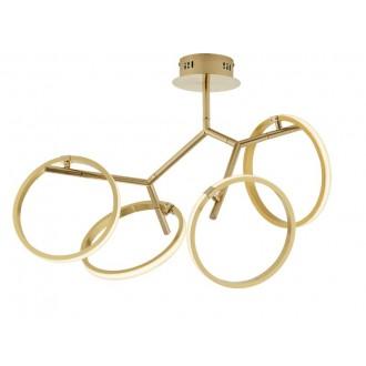 VIOKEF 4201100 | Andria-VI Viokef stropne svjetiljke svjetiljka 1x LED 1800lm 3000K zlatno
