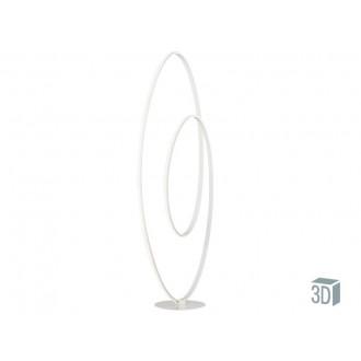 VIOKEF 4202300 | Cozi Viokef podna svjetiljka 120cm s prekidačem 1x LED 1920lm 3000K bijelo
