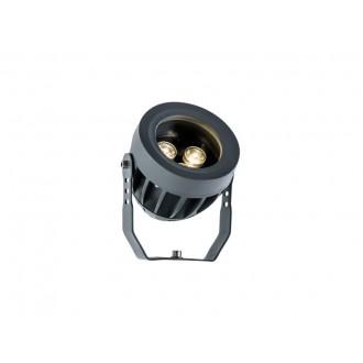VIOKEF 4205000 | Ermis Viokef reflektor, ubodne svjetiljke svjetiljka elementi koji se mogu okretati 3x LED 330lm 3000K IP66 tamno siva