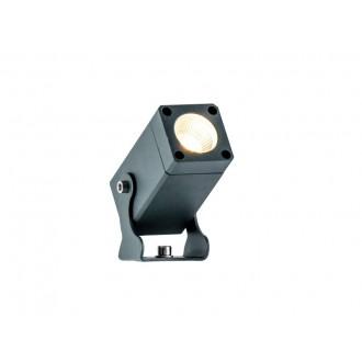 VIOKEF 4205300 | Aris-VI Viokef reflektor, ubodne svjetiljke svjetiljka elementi koji se mogu okretati 1x LED 330lm 3000K IP66 tamno siva