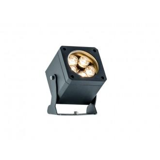 VIOKEF 4205400 | Aris-VI Viokef reflektor, ubodne svjetiljke svjetiljka elementi koji se mogu okretati 2x LED 1100lm 3000K IP66 tamno siva