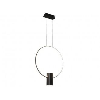 VIOKEF 4205901 | Sindy Viokef visilice svjetiljka 1x LED 1980lm + 1x LED 540lm 3000K crno