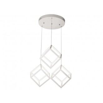 VIOKEF 4206800 | Ice-Cube-VI Viokef visilice svjetiljka 1x LED 6912lm 3000K bijelo